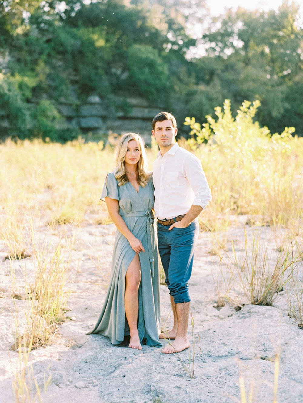 Becca Lea Photography, Fine art film wedding photographer, Contax 645, Portra 400, Austin Engagement Photographer, Bull Creek Engagement, Austin Wedding Photographer, Fine Art photographer Austin, Lulus dress, Fine Art Engagement, Destination Wedding photographer, Destination weddings