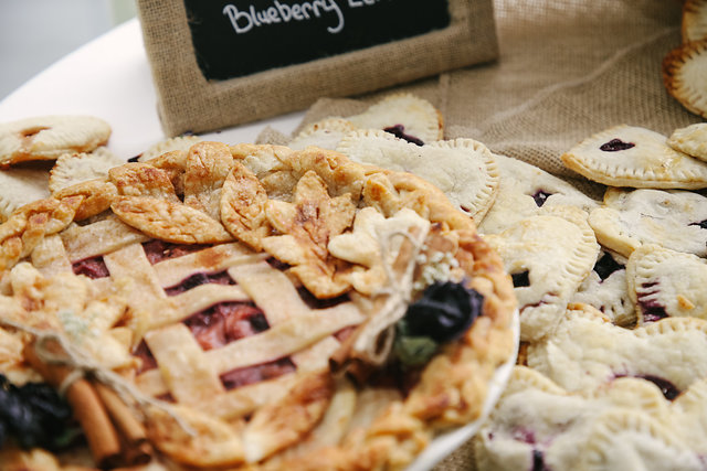 PIEBAR - my dream, a table of homemade handpies filled with a variety of berries and mixed with love