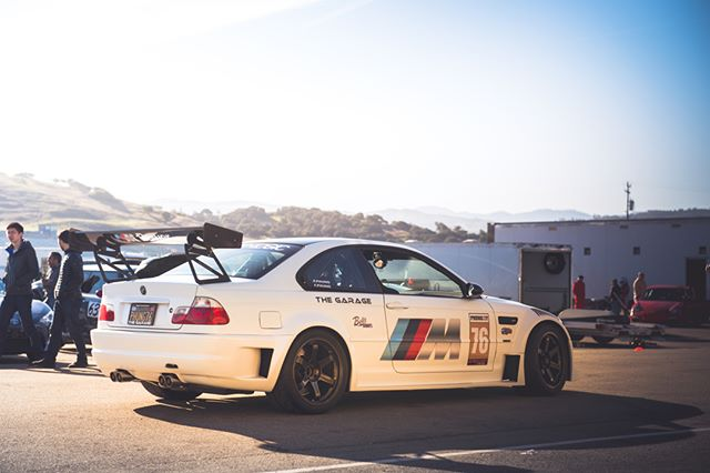 Shooting at @mazdaracewaylagunaseca with @speedsf_track_event this weekend. One of the many cool cars out there! _________ #speedsf #speedsftrackevents #bmw #bmwe46 #bmwe46m3 #bmwm3 #mazdaracewaylagunaseca #lagunaseca #mazdaraceway #bmwusa #bmwlife #bimmerlife