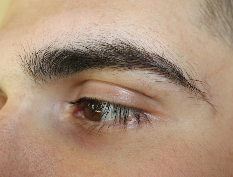 BEFORE BROW SHAPING | MALE