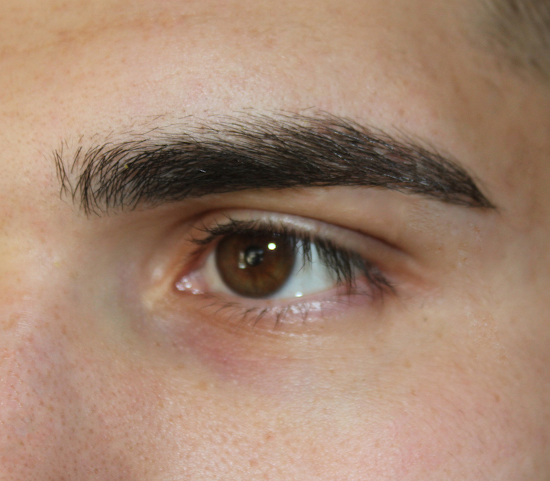 AFTER BROW SHAPING | MALE