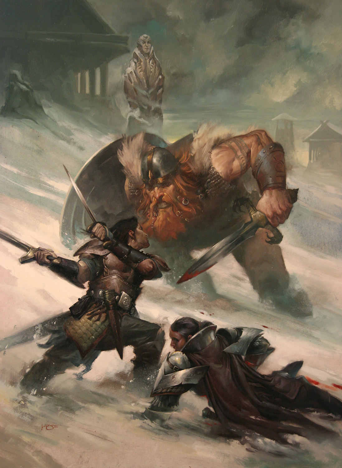 Art Hill Mazda >> Snow Viking — The Art of Lucas Graciano