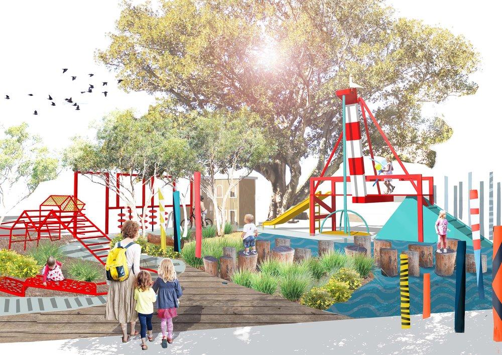 Kings Square Urban Playspace