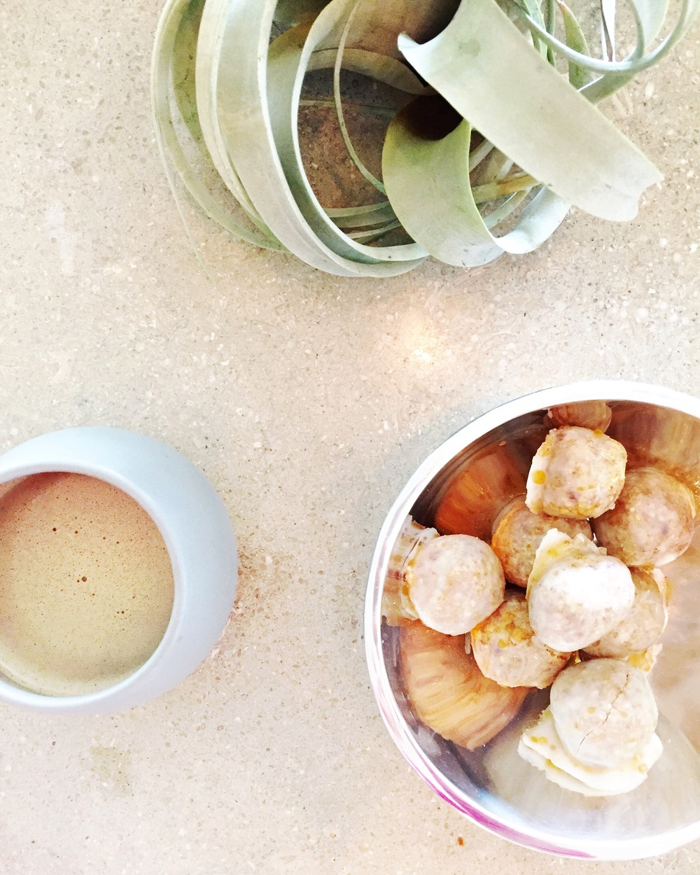 superfood coffee and superfood donuts. next level fire.