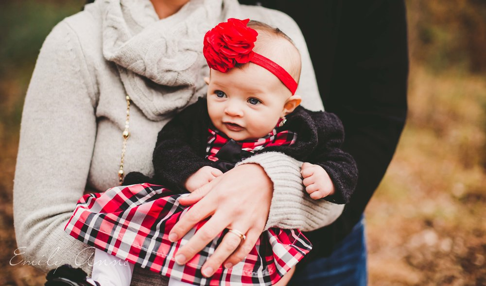 cutest family session with emily anne photography - top family photographer nashville tn 3 month old session