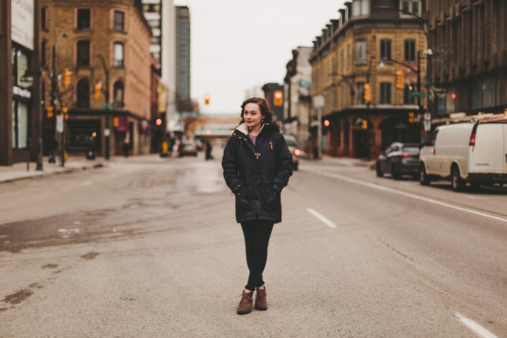 best senior portrait photographer shot in the streets of London! Top Outgoing Senior Portrait Photographer in Nashville