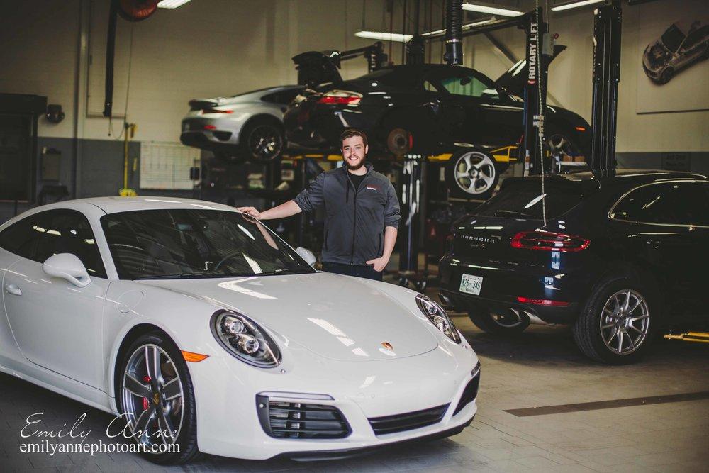 Nashville Auto Dealership/Commercial Photographer Porsche by Emily Anne Photography