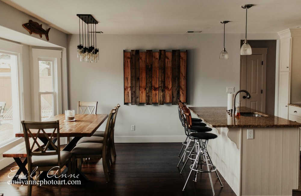 best interior design photographer nashville tn emily anne photography shot in Mt. Pleasant vacation home Magnolia house