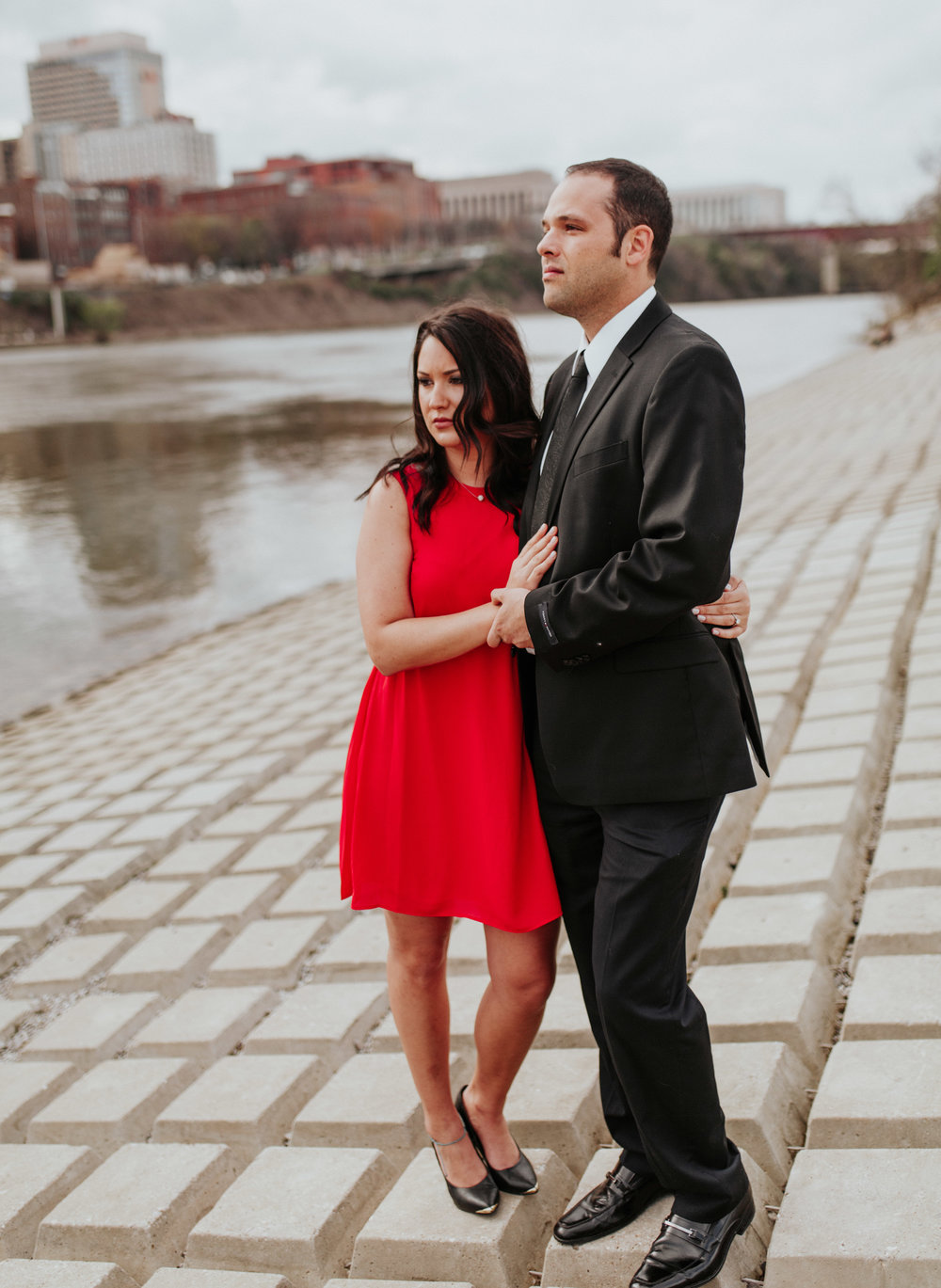 riverfront engagement session nashville tn emily anne photography elopement
