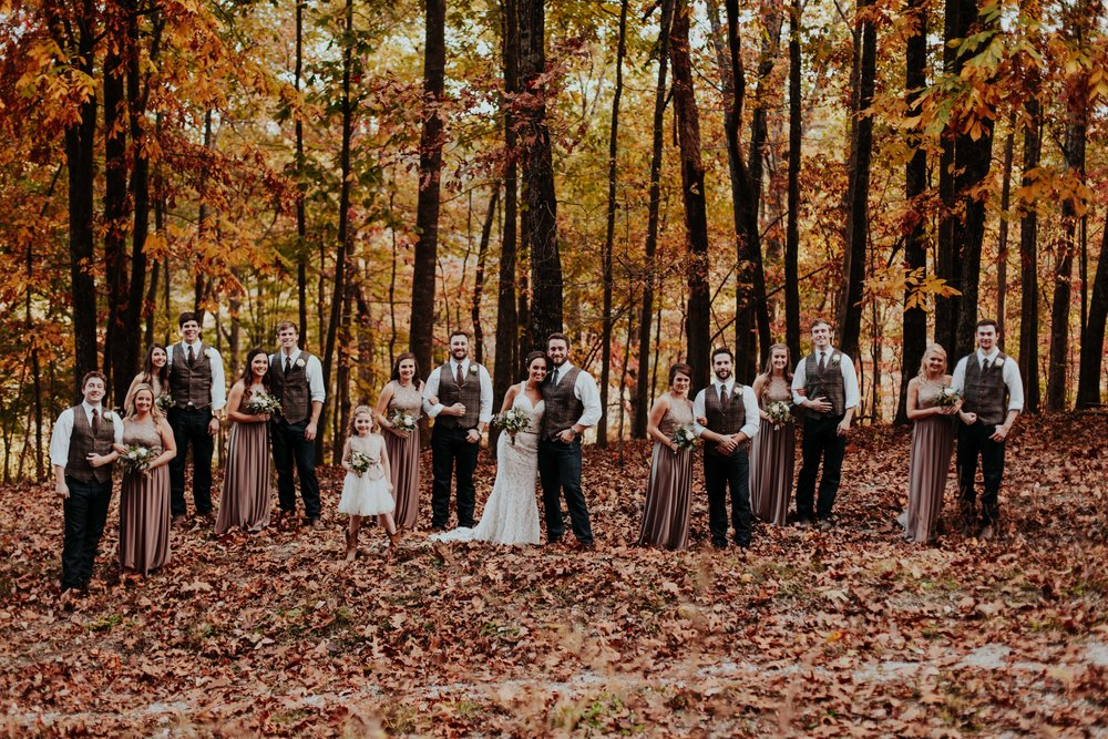 most gorgeous bridal party photos- Top Nashville Wedding Photographer  by Emily Anne Photography  shot in Leiper's Fork Franklin TN