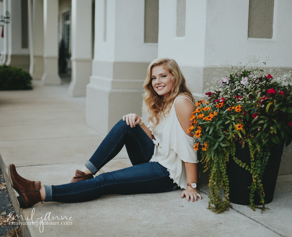 adorable senior portrait images - inspiring photoshoot by Emily Anne Photo Art Nashville, Franklin and Brentwood TN + Atlanta Georgia portrait photographer