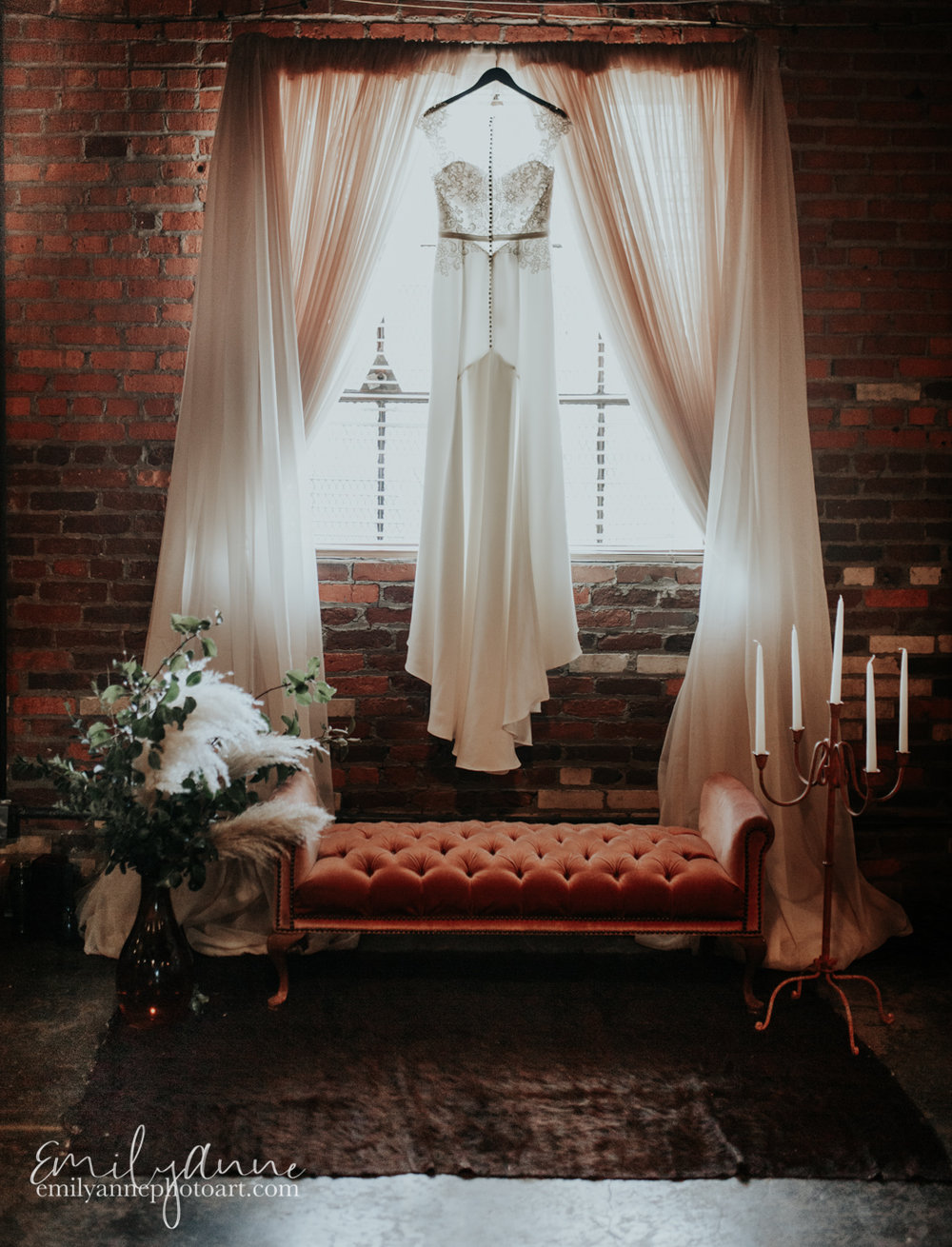 most beautiful wedding dress photographer by travel destination wedding photographer Emily Anne