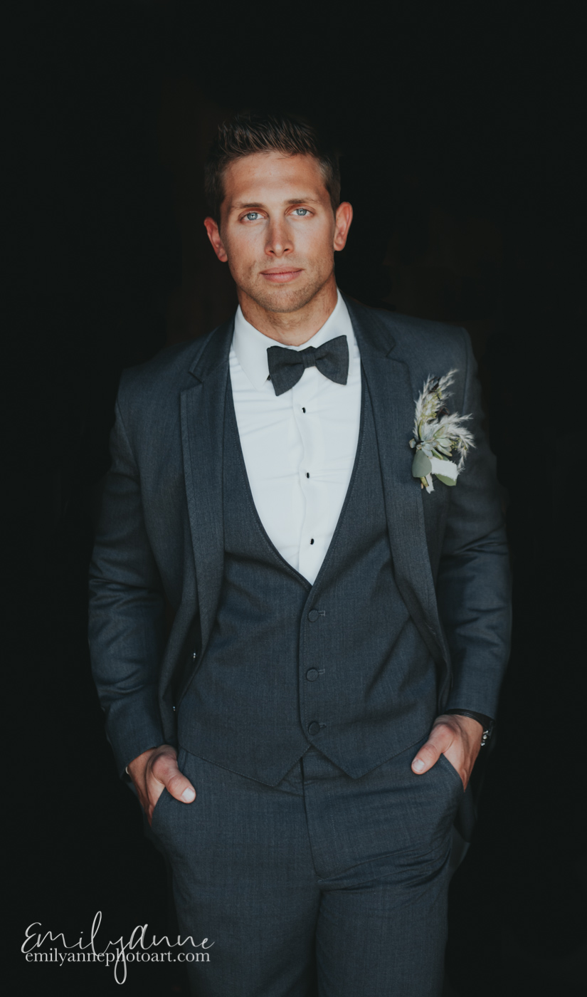 Handsome Groom Shot - Top Model/Celebrity Photographer for Vogue in Nashville TN - Emily Anne Photo Art (Photography)