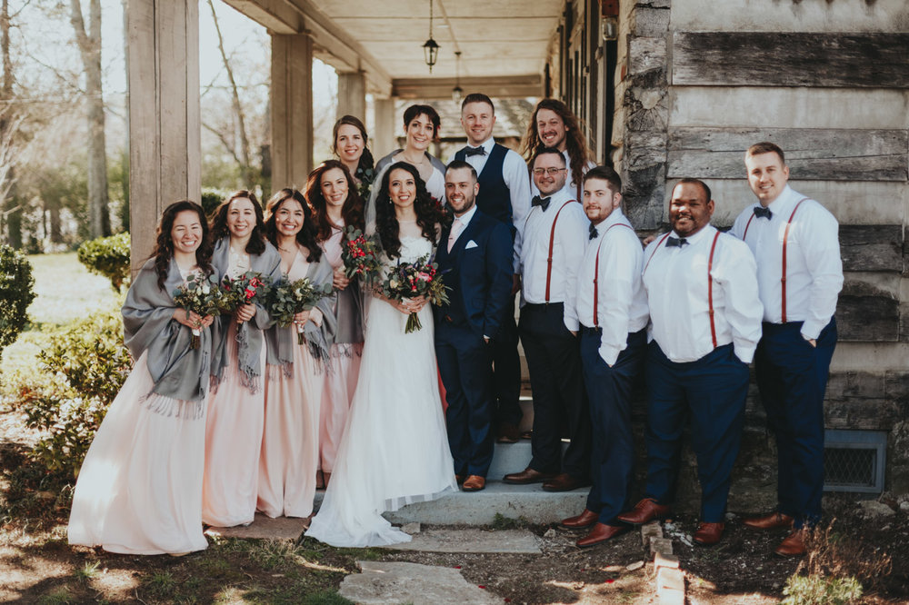 beautiful inspiring wedding party ideas by top wedding photographer Emily Anne Photo Art Franklin TN, Barcelona Spain and Atlanta Georgia