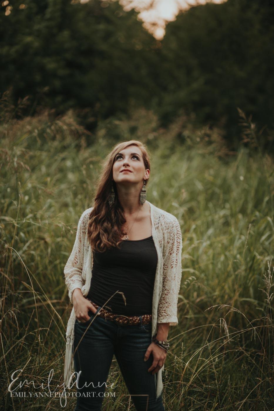 top senior portrait artist musician photographer