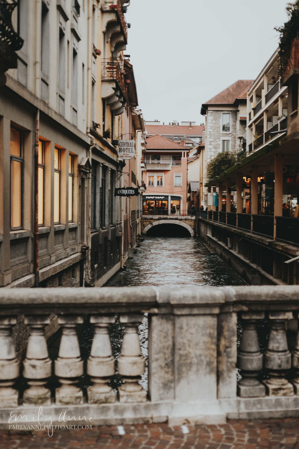The streets of Verona- actually Annoy France; perfect European town captured by Nashville and Barcelona's top wedding photographer
