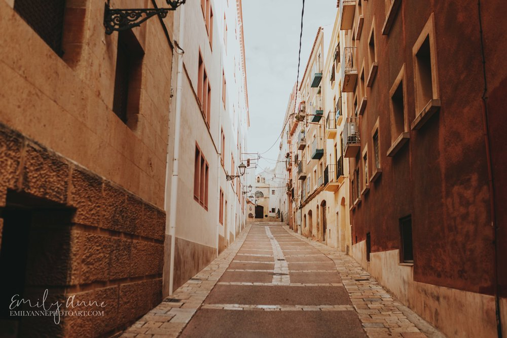 streets of Tarragona oldest and best places to see in Spain by Emily Anne Photo Art Barcelona Photographer