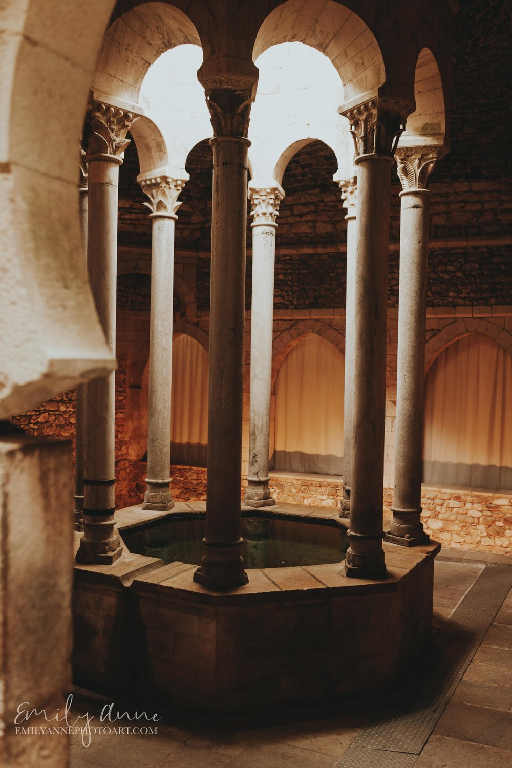 arabic baths of girona Spain one of the coolest inspirational shots in nature shot in the frigidarium