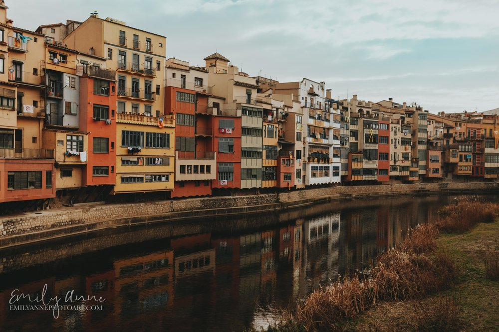 beautiful river in gerona Spain by wedding photographer Emily Anne photo art