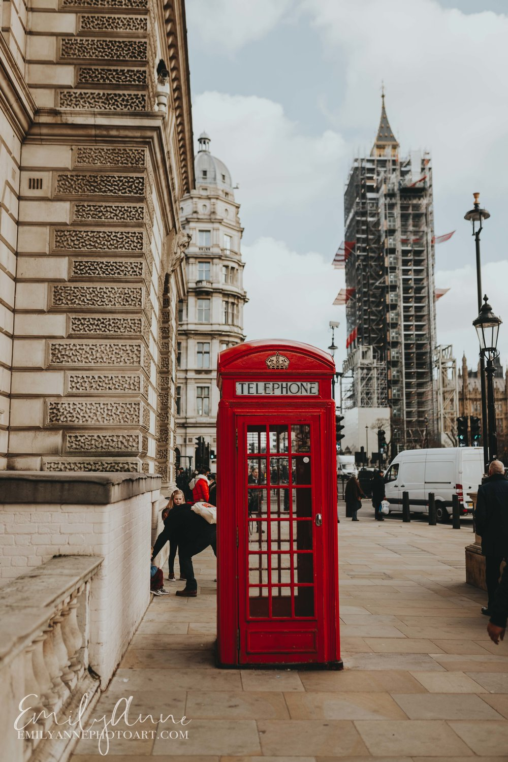 engagement photography ideas in London UK classic red telephone booth pics in London Uk - things you must do Emily Anne Photo Art!