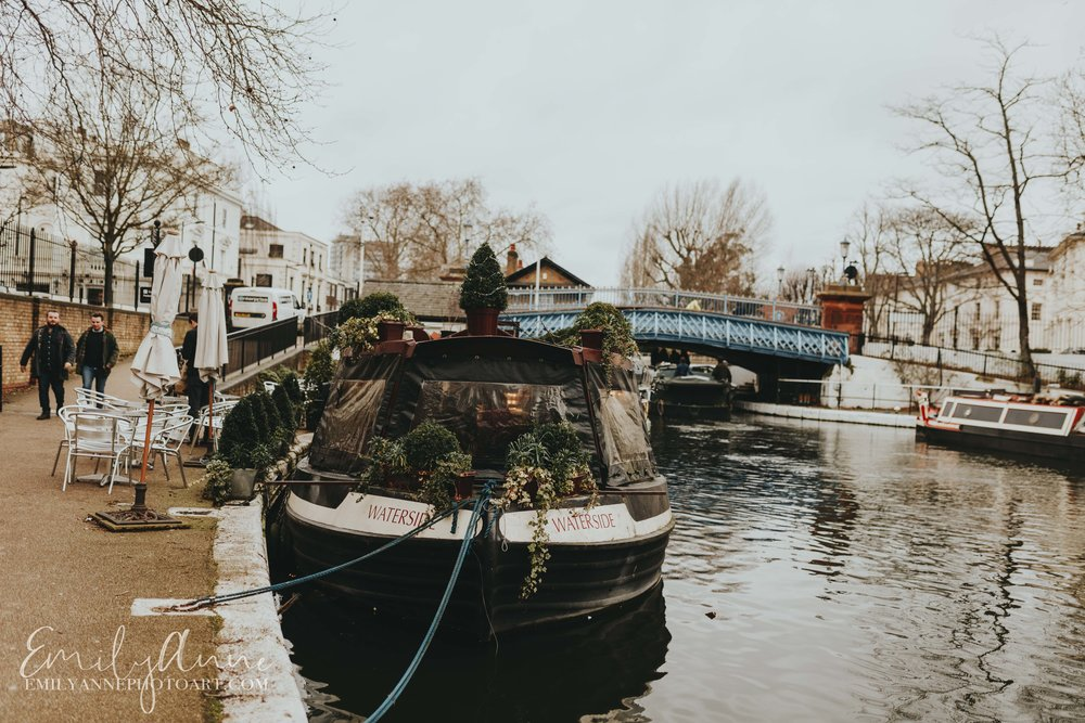 Little Venice London England by Best Photographer Emily Anne Photo Art Nashville Barcelona wedding and portraits