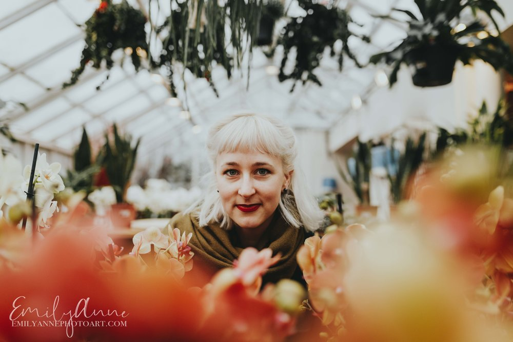 flower power inspired shoot London uk Clifton nurseries by top portrait photographer Emily Anne Photo art Barcelona Nashville based