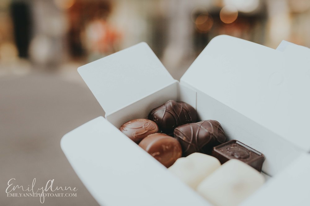 best chocolate in Belgium by top wedding portrait photographer Emily Anne European Belgium Nashville Barcelona Photographer