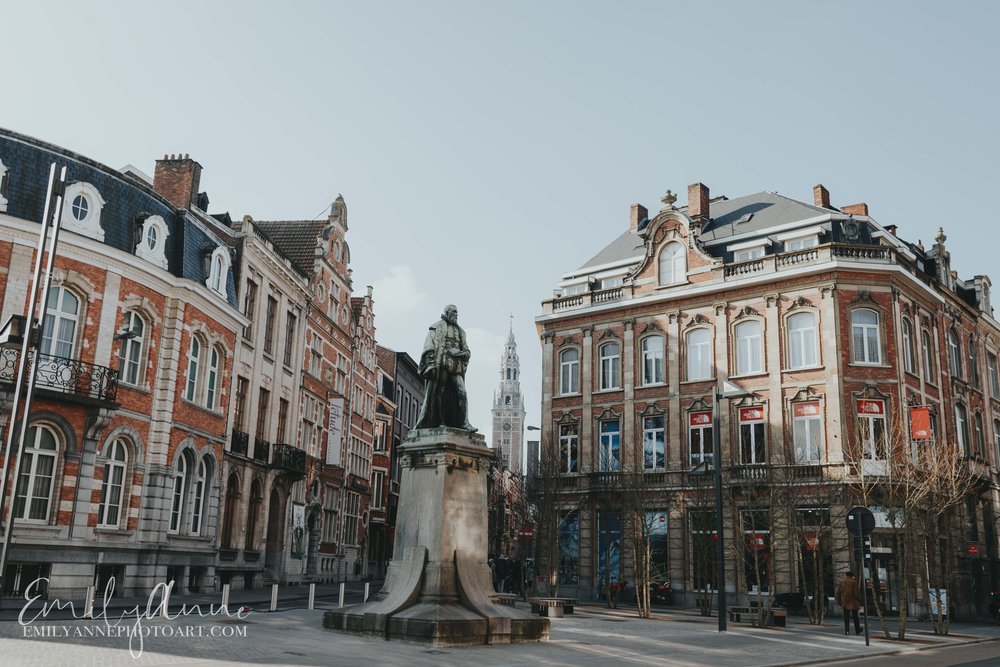 Leuven Belgium exploring the best city in Belgium best architecture in Belgium found in Leuven by top wedding portrait photographer Emily Anne photo Art in Europe Barcelona