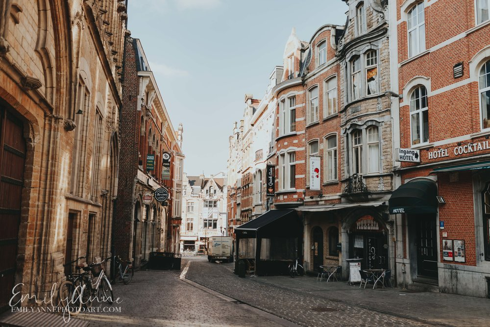 perfect little frozen movie town Leuven by top wedding portrait photographer in Belgium, Barcelona Emily Anne Photo Art