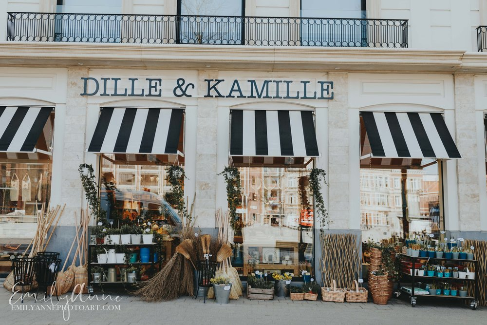 Dill & Kamille - cutest gardening store in Belgium by Belgium Leuven Portrait Wedding Photographer Emily Anne Photo Art based in Barcelona