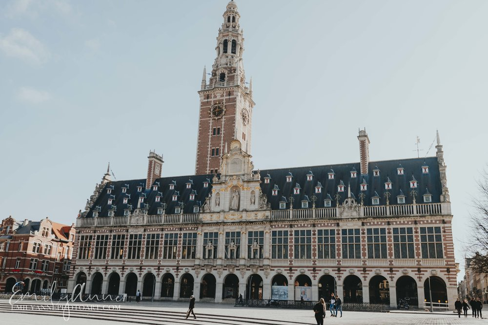 top library in Leuven must visit and do Spanish and English tour by Barcelona Spain & Nashville Leuven Belgium Photographer Emily Anne Photo Art