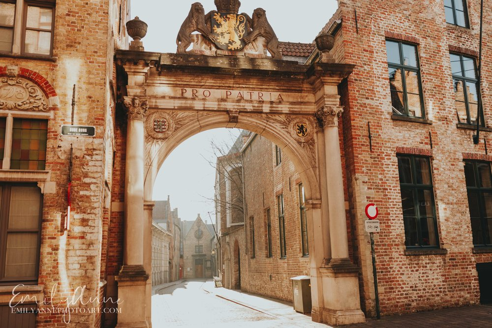 enchanting city of Bruges; Belgium Barcelona photographer tour guide