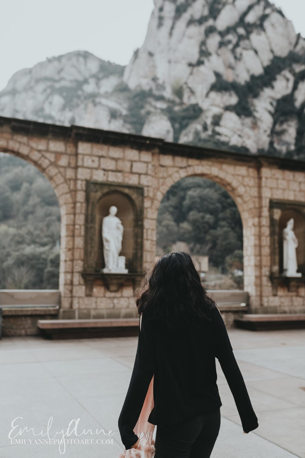 Explore Montserrat Easy Daytrips from Barcelona by Nashville Portrait Wedding Photographer Elopement weddings on Montserrat