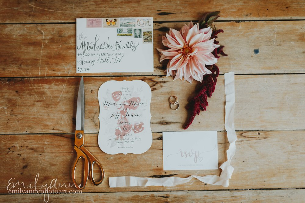 Invitation by  Minted .