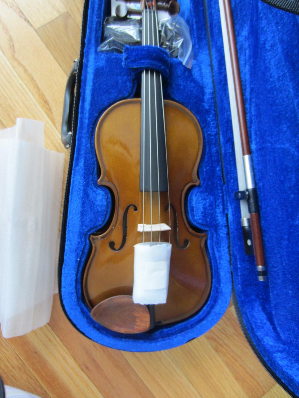 Stentor violin and case