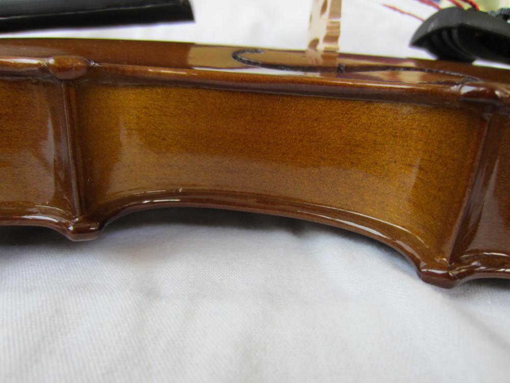 Stentor Violin Brand Side