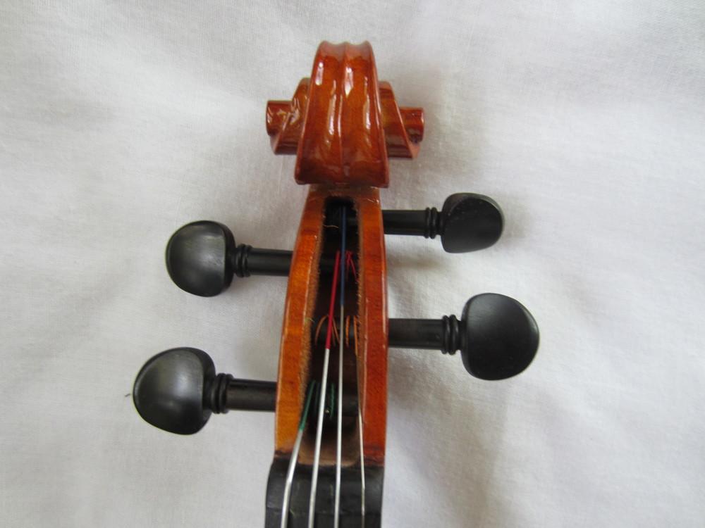 Franz Hoffman Violin Scroll