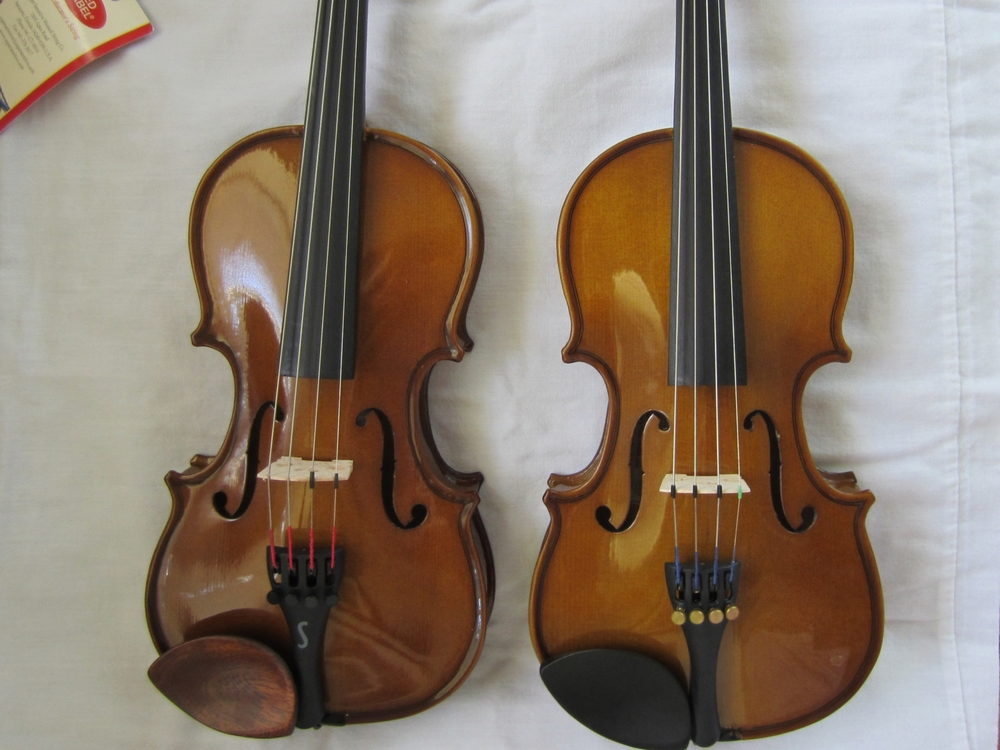 Cremona and Stentor Violins