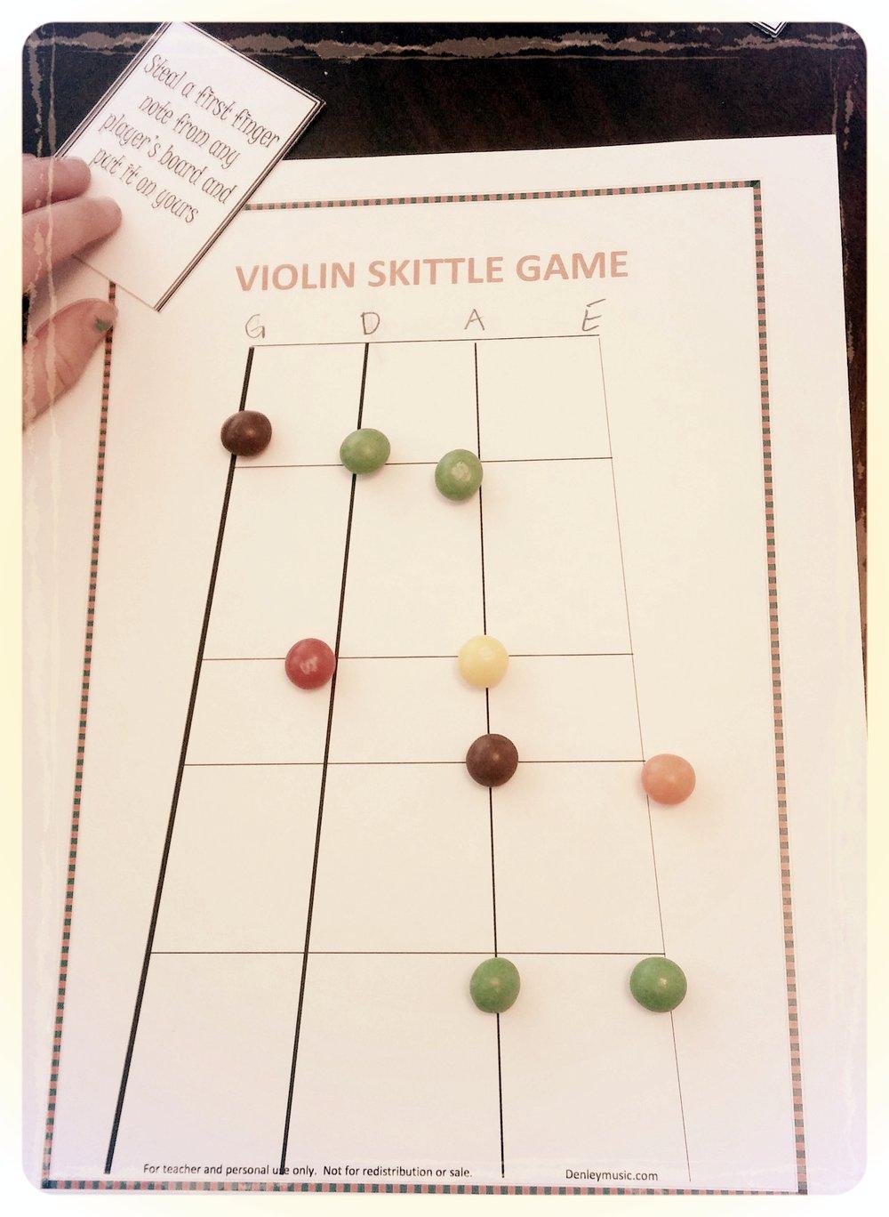 Violin Game - Music Theory Fun