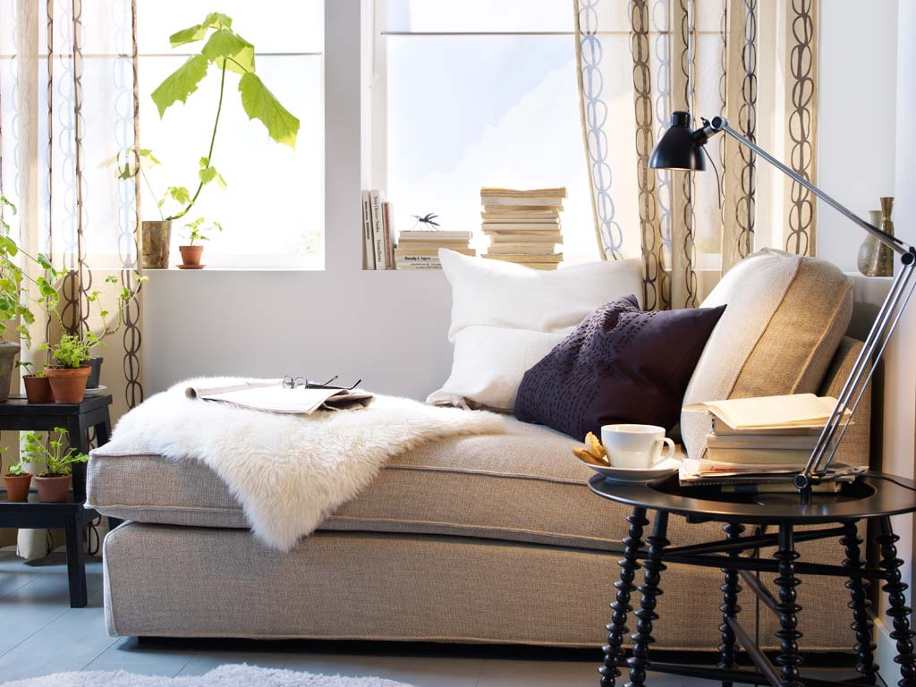 Inviting living room design with ikea window seat Services   The Adored Nest. Reading Lamps For Living Room. Home Design Ideas
