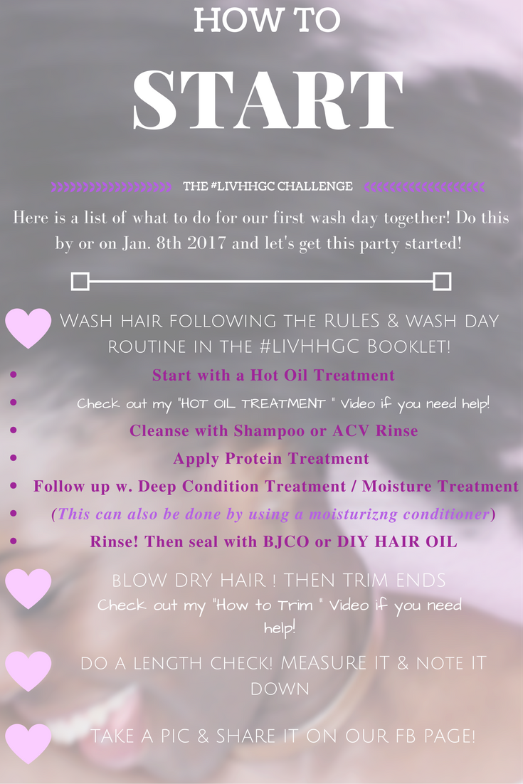 LIV HEALTHY HAIR GROWTH CHALLENGE