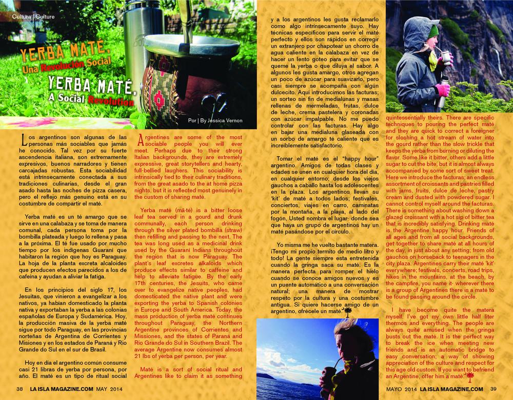 Mayo, 2014: Yerba Mate, Una Revolución Social