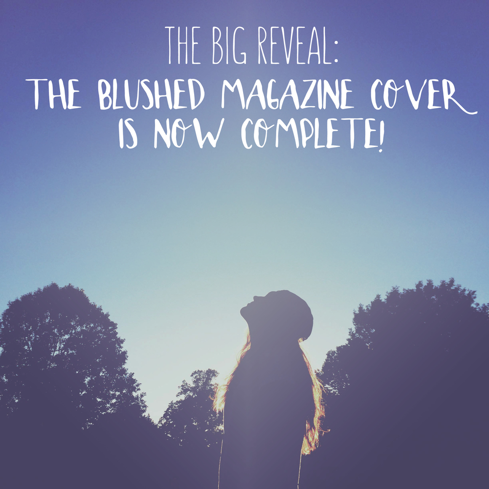 Blushed. Magazine cover reveal with Design In Session