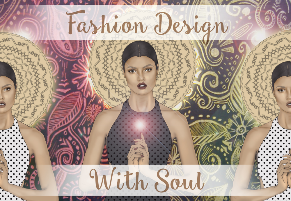 In this class, we look at the process of Fashion Design through a spiritual lens.While this class is mostly about finding YOUR inner creative muse or creative genius, your fashion collection must consist of at least a minimum of at least 3 looks. I do not want to stifle or scare your muse away with limitations, but a maximum of 5 looks will work just fine! The first half of the class will come directly from the workbook given to stir your hidden genius out of his or her humdrum slumber! Click on the image to find out more!