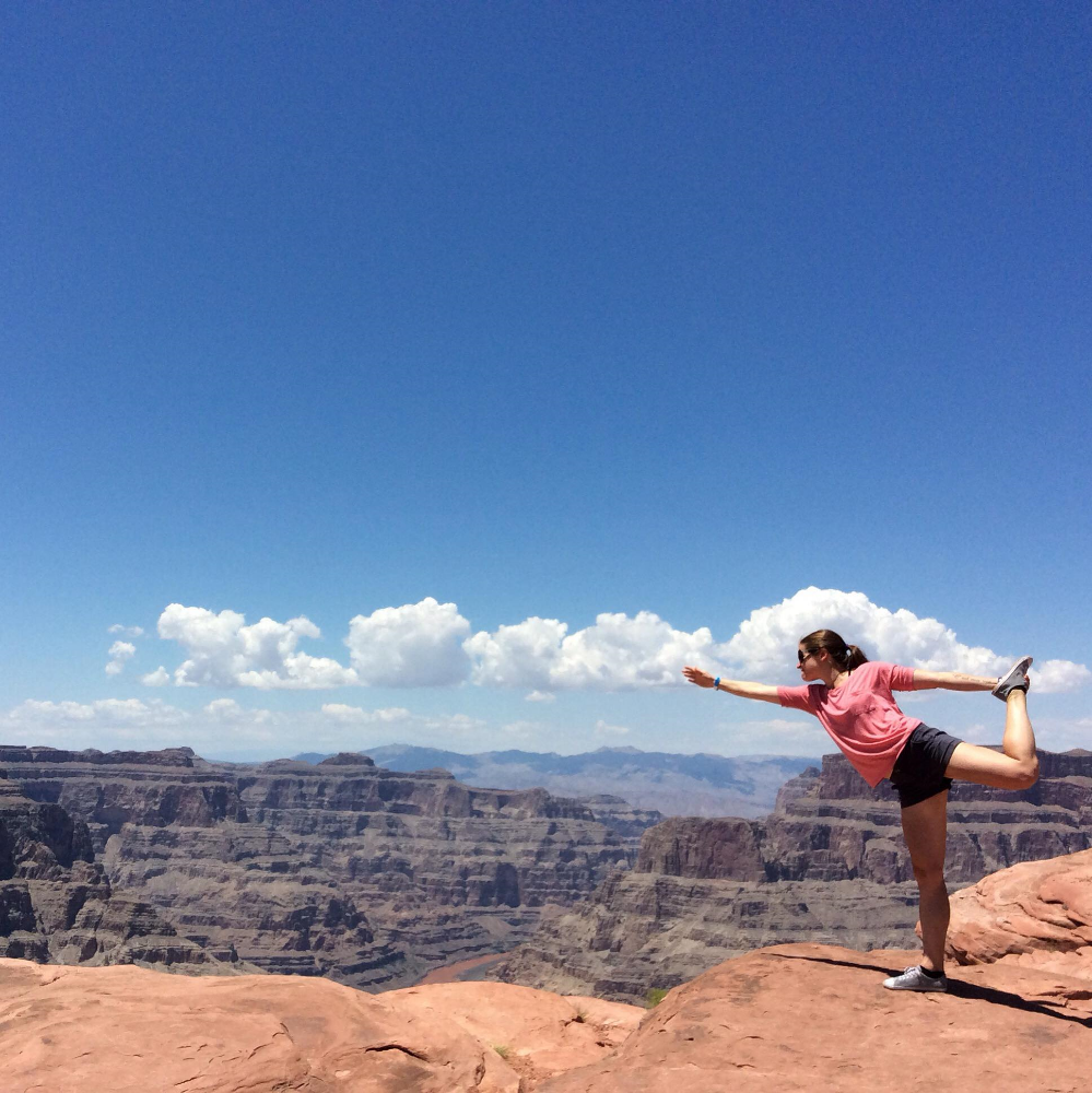 Bliss. West Rim of the Grand Canyon, Arizona.
