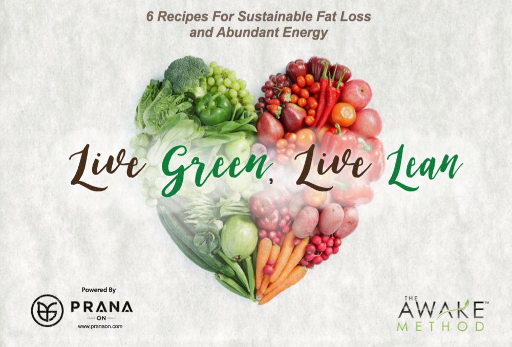 Live green, Live lean recipes