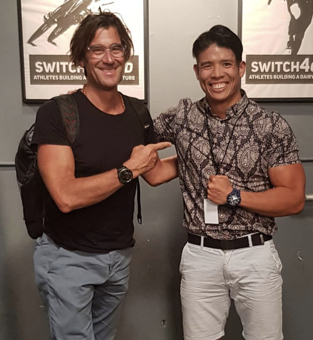 Rich Roll at the Switch4Good Summit, Los Angeles