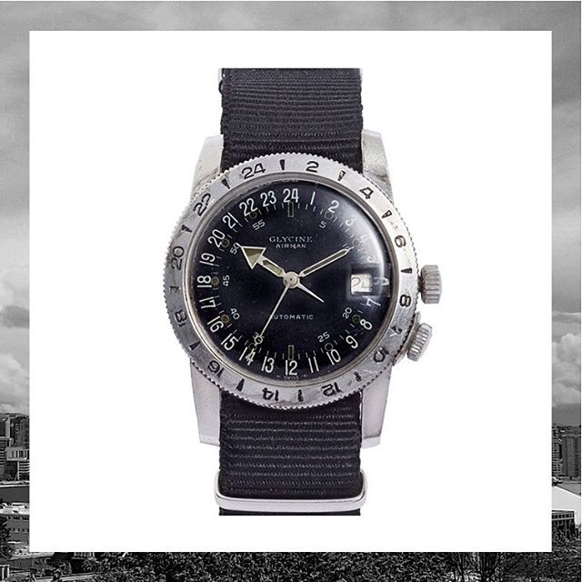 1960's classic, with FOOTHILLS CA black on black style, available now at #nordstrompop #nordstromsea #glycine #airman