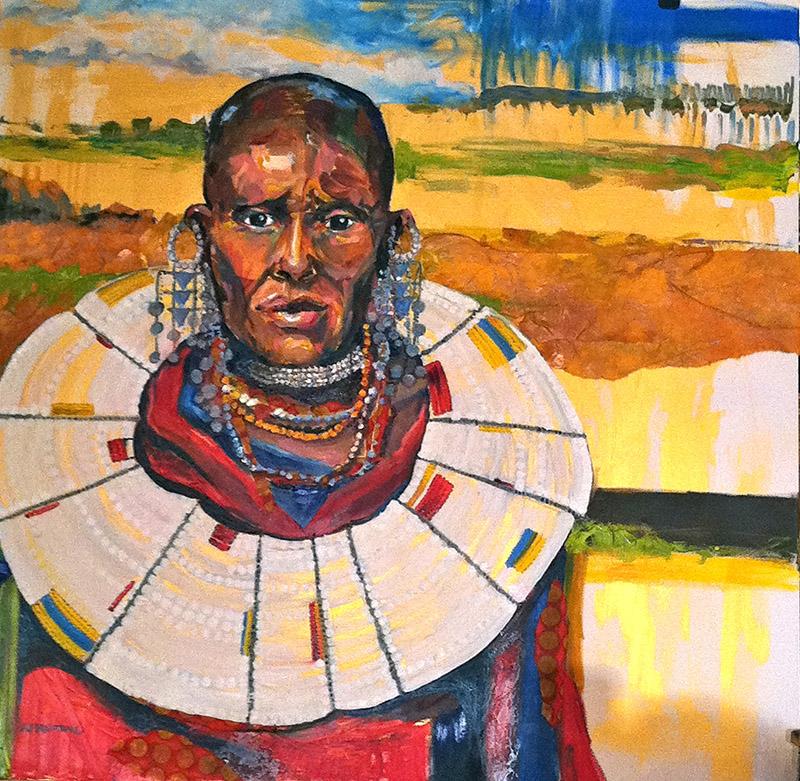 Robbi Firestone Maasai Bride