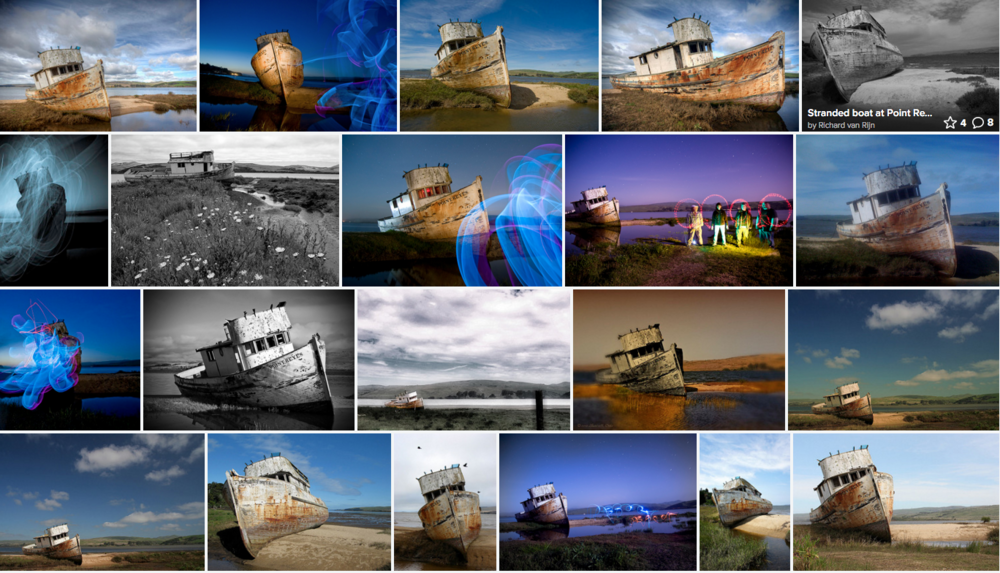 Photos of the Shipwreck on Flickr